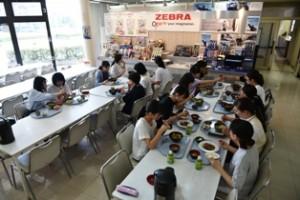 ゼブラ工場見学2