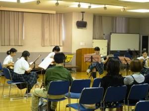 トキワ松学園マンドリン・ギター部合宿2