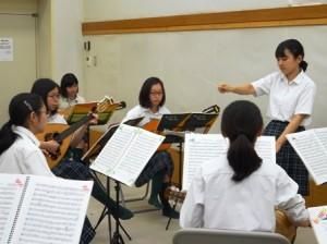 トキワ松学園マンドリン・ギター部合宿1