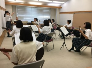 トキワ松学園マンドリン・ギター部合宿8