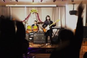 トキワ松学園軽音楽部クリスマスライブ1